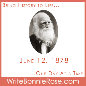 Timeline Worksheet June 12, 1878, William Cullen Bryant