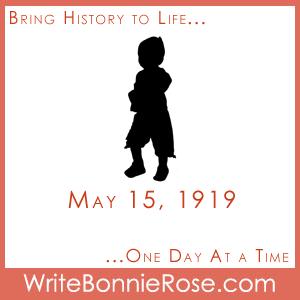 Timeline Worksheet May 15, 1919, Child Labor