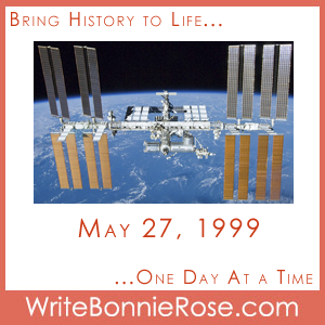 Timeline Worksheet May 27, 1999, Julie Payette and the International Space Station