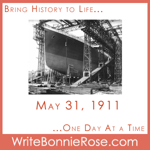 Timeline Worksheet: May 31, 1911, Titanic