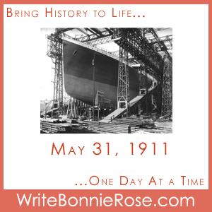 Timeline Worksheet: May 31, 1911, Titanic