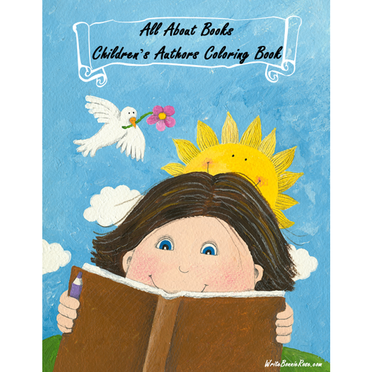 All About Books: Children's Authors Coloring Book (e-book)