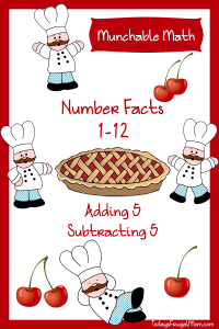 Free Elementary Math Worksheets-Munchable Math All About Cherries