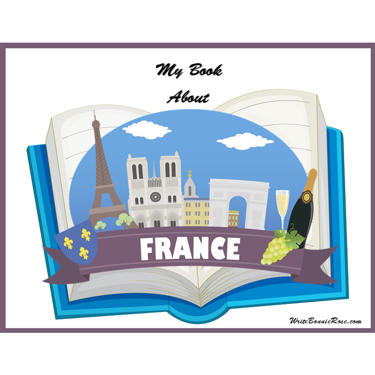 My Book About France (e-book)