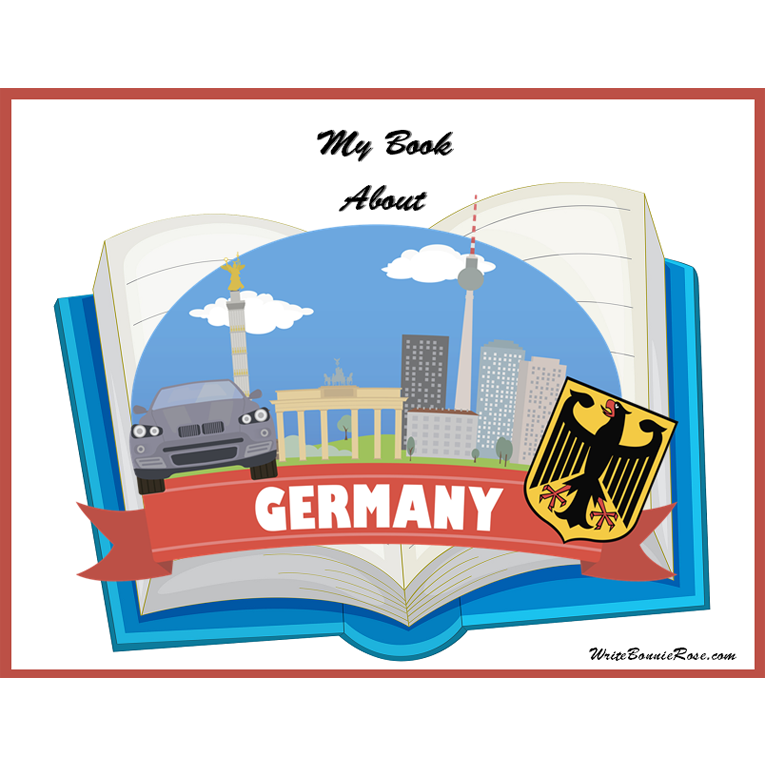 My Book About Germany (e-book)
