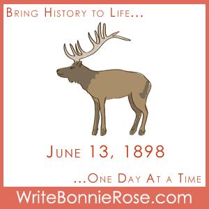 Timeline Worksheet June 13, 1898, Yukon Territory