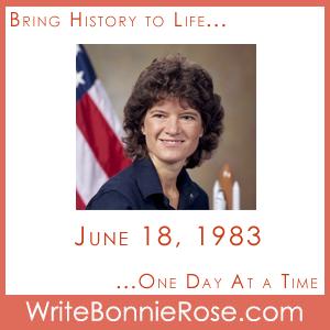 Timeline Worksheet, June 18, 1983, First American Woman in Space