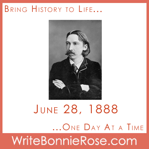 Timeline Worksheet: June 28, 1888, Robert Louis Stevenson and The Land of Story-Books