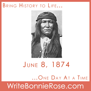 Timeline Worksheet June 8, 1874, Cochise and the Apache