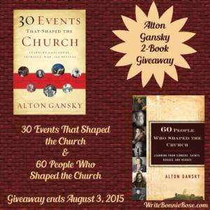 Alton Gansky Book Giveaway