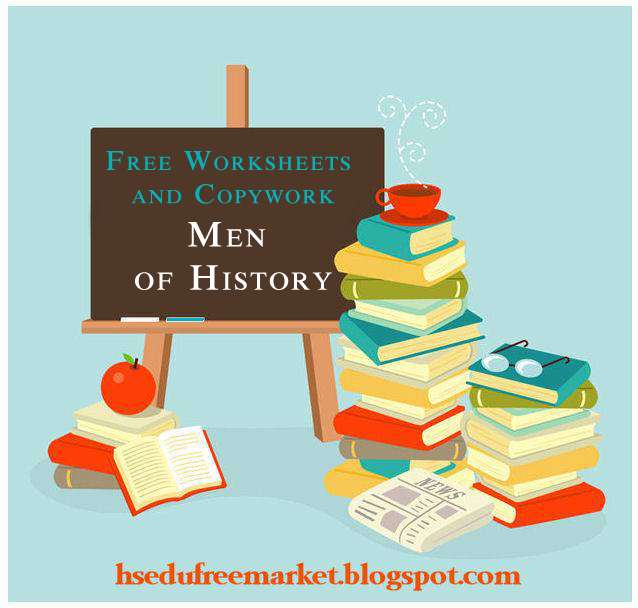 FREE History Resources-Men of History