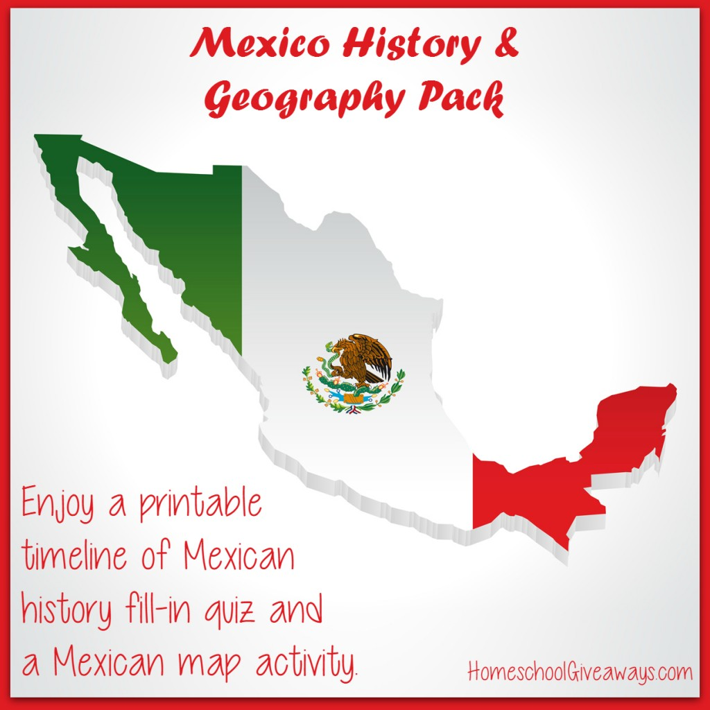 Mexican History and Geography Printable Pack