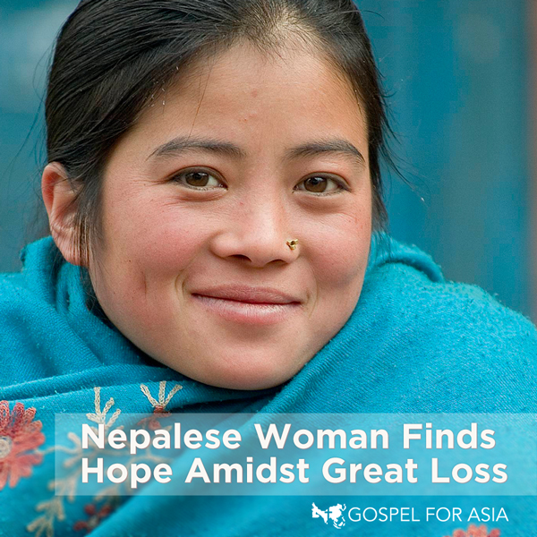 Nepalese Woman Finds Hope Amidst Loss