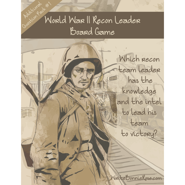 World War II Recon Leader Board Game Additional Question Pack #1 (e-book)