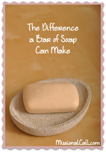 The Difference a Bar of Soap Can Make