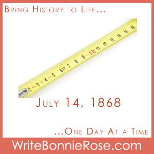 Timeline Worksheet July 14, 1868, Tape Measure Patented