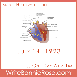 Timeline Worksheet July 14, 1923, Favaloro and the Heart