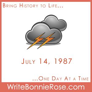 Timeline Worksheet July 14, 1987, Montreal Flood