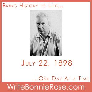 Timeline Worksheet: July 22, 1898, Alexander Calder's Birthday