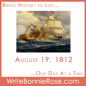 Timeline Worksheet, August 19, 1812, USS Constitution