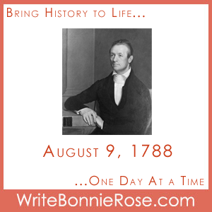 Timeline Worksheet: August 9, 1788, Adoniram Judson Board Game