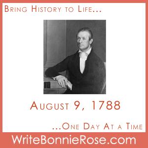 Timeline Worksheet, August 9, 1788, Adoniram Judson printable board game