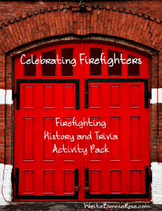 Celebrating Firefighters Activity Pack