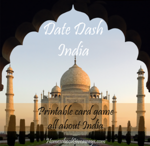 FREE Indian History Card Game-Date Dash India