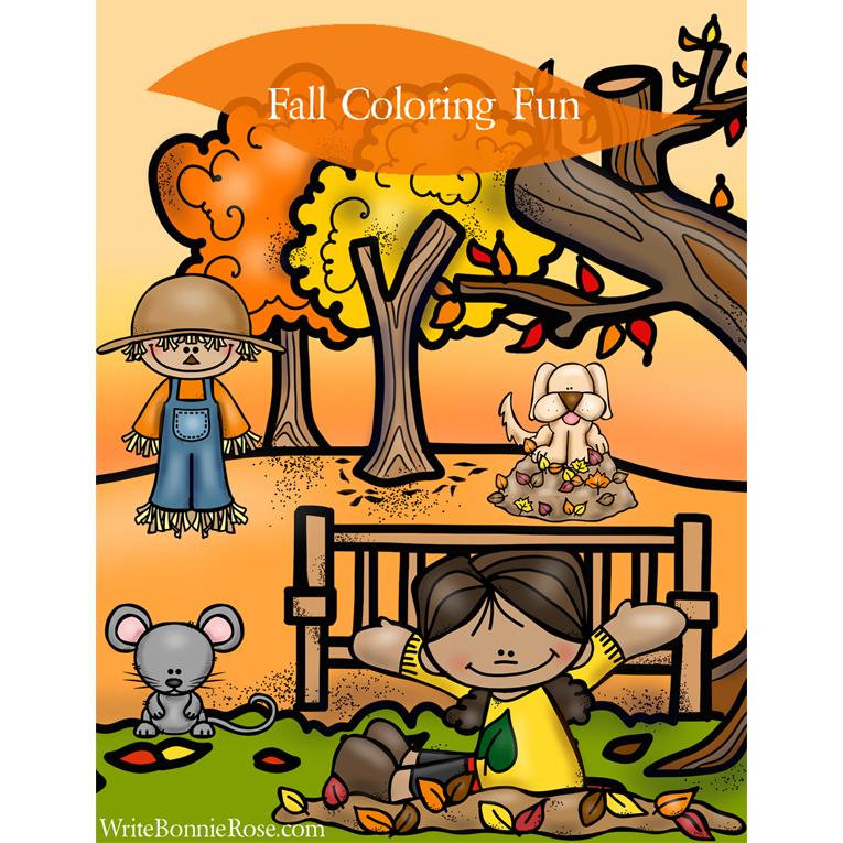Fall Coloring Fun (e-book)
