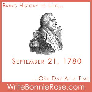 Timeline Worksheet: September 21, 1780, Benedict Arnold Commits Treason