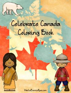 Celebrate Canada Coloring Book