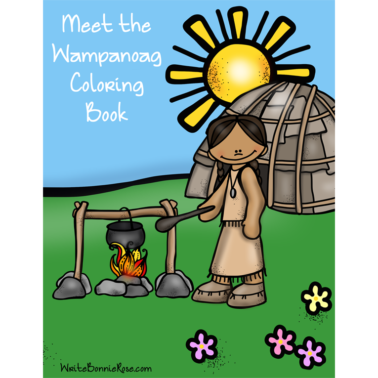 Meet the Wampanoag Coloring Book (e-book)
