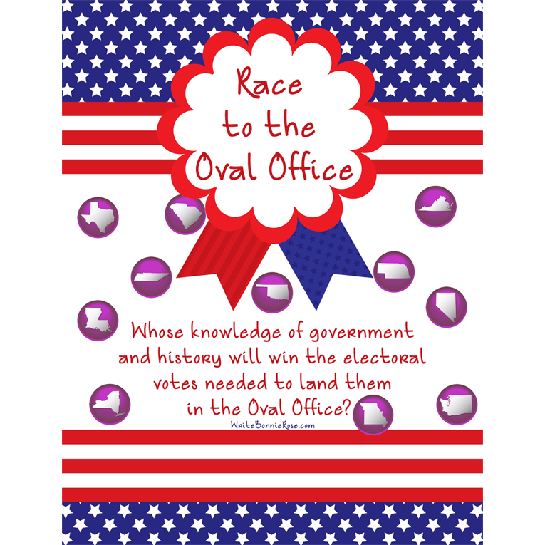 Race to the Oval Office Board Game (e-book)