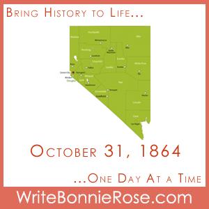 Timeline Worksheet October 31, 1864, Nevada Becomes a State
