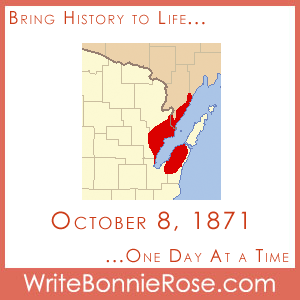 Timeline Worksheet: October 8, 1871, Peshtigo Fire