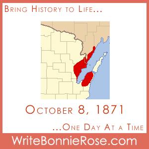 Timeline Worksheet October 8, 1871, Peshtigo Forest Fire