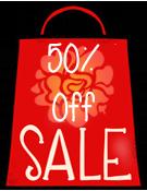 50 Off Sale