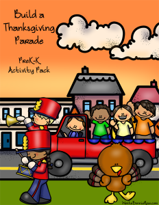 Build a Thanksgiving Parade Activity Pack sm