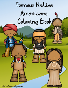 Famous Native Americans Coloring Book sm