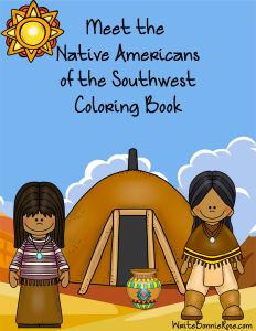 Meet the Native Americans of the Southwest Coloring Book sm
