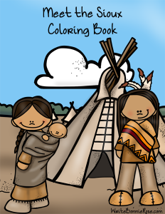 Meet the Sioux Coloring Book sm