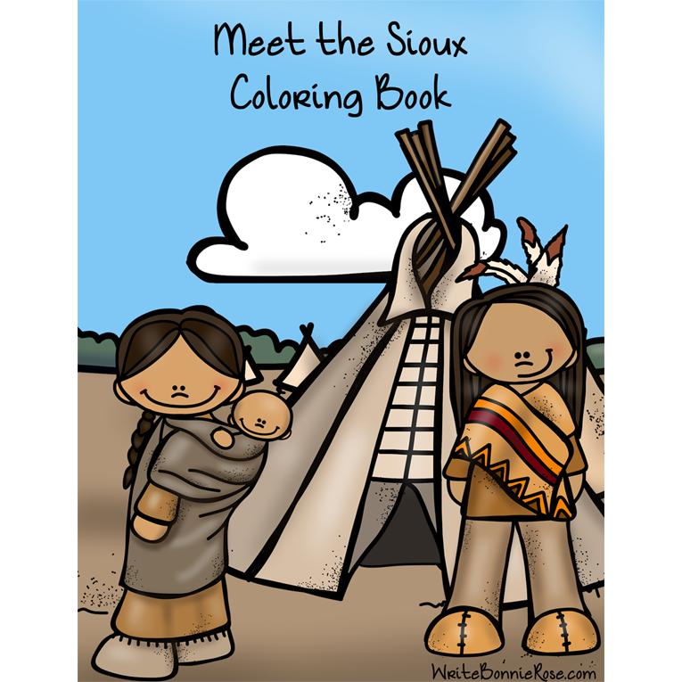 Meet the Sioux Coloring Book (e-book)