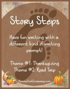 Free Writing Prompts-Thanksgiving-Themed Story Steps