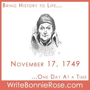 Timeline Worksheet November 17, 1749, Canned Food Scramble