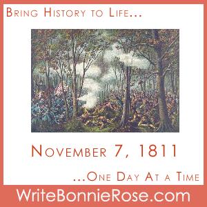 Timeline Worksheet November 7, 1811, Battle of Tippecanoe