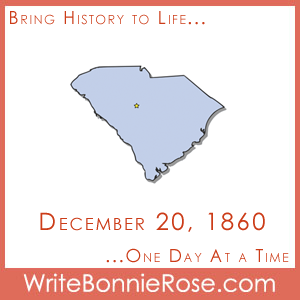 Timeline Worksheet December 20, 1860, South Carolina Secession