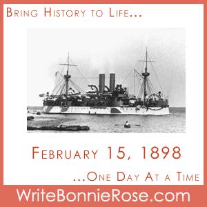 Timeline Worksheet February 15, 1898, Spanish-American War