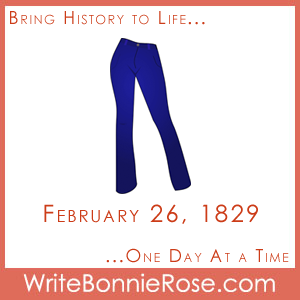 Timeline Worksheet: February 26, 1829, Levi Strauss