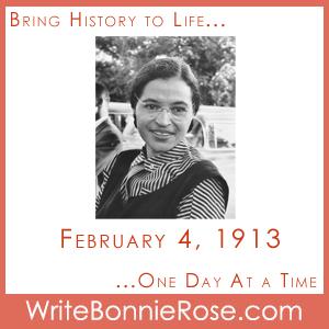 Timeline Worksheet February 4, 1913, Rosa Parks Birthday
