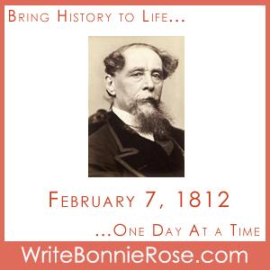 Timeline Worksheet February 7, 1812, Charles Dickens